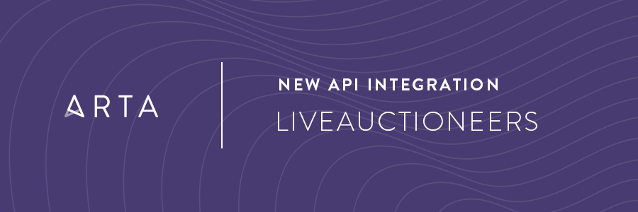 ARTA's API Integration with LiveAuctioneers