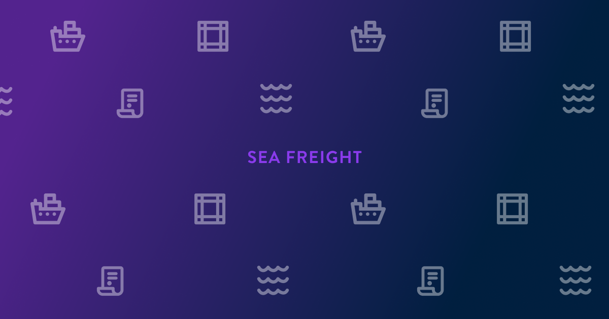 Know the Basics: Sea Freight