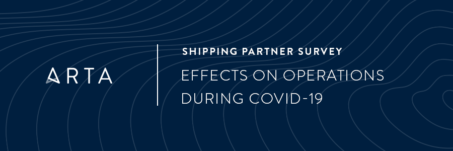 Shipping Partner Survey: Effects on Operations During COVID-19