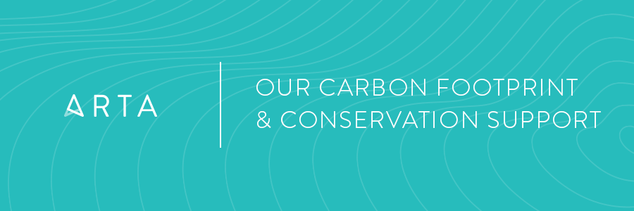 Our 2020 Carbon Footprint & Support of Conservation